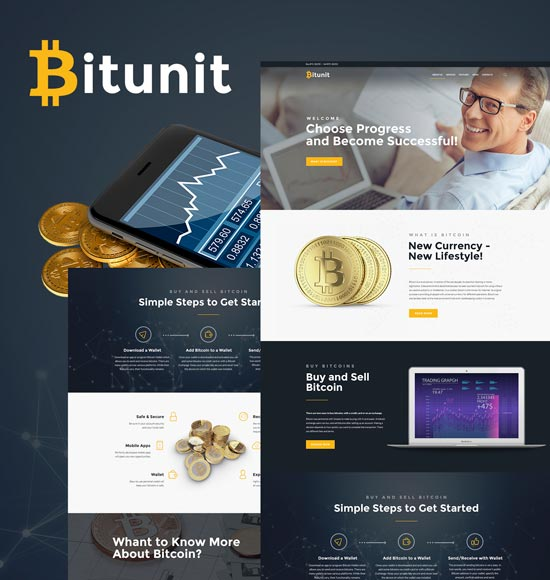 bitunit wordpress bitcoin theme