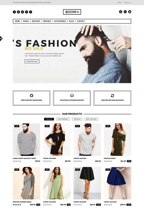 boom fashion accessories prestashop theme