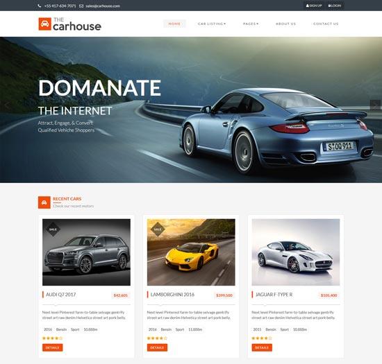 car-house-car-dealer-template