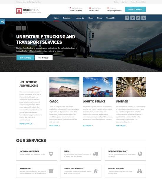 cargopress logistic warehouse transport wp