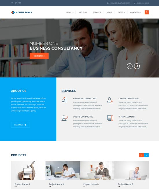 consultancy wp consultancy business theme