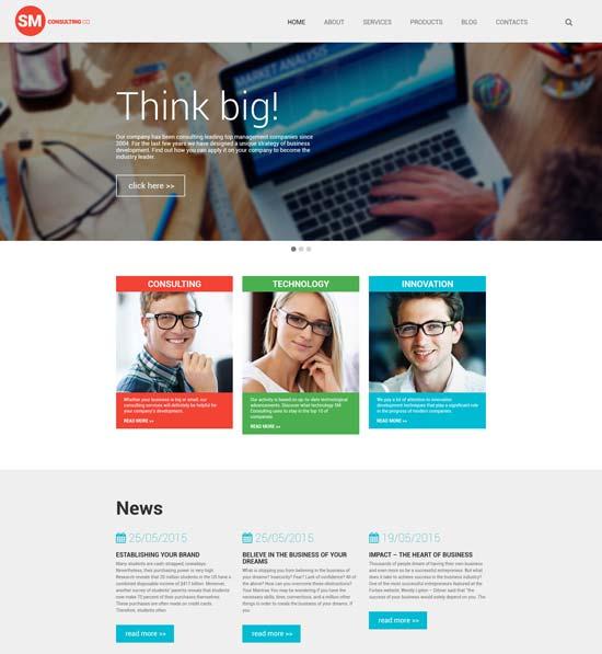 consulting-co-wordpress-theme