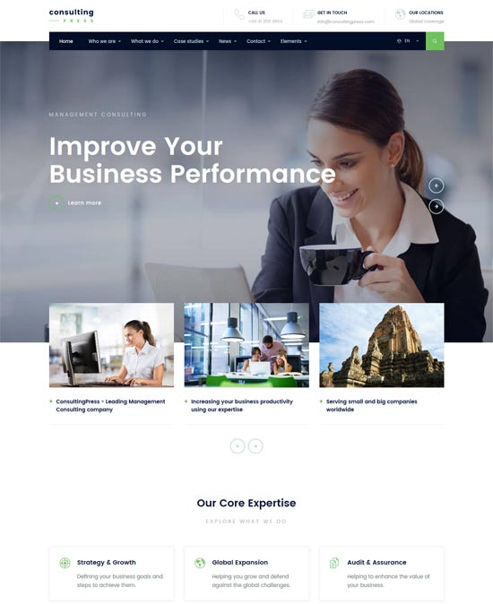 consultingpress consulting html template