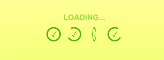 css loading spinners