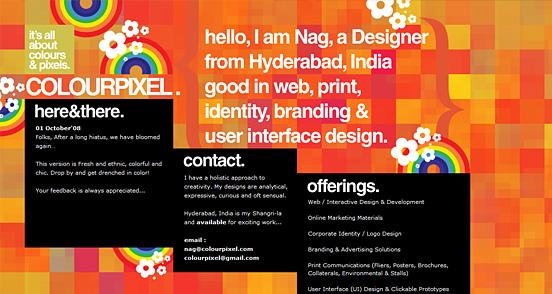 Fresh Creative Website Designs: 50+ Creative CSS Website Designs for Inspiration