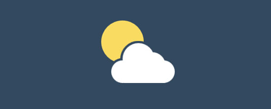css3 animated weather icons