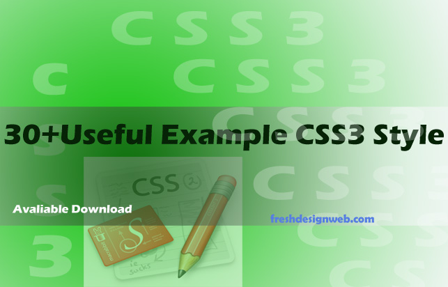 116 Useful CSS3 Tutorials Examples and Tricks for Designer
