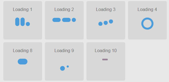css3 loading animations