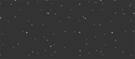 css3 snow animation