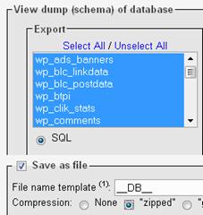 database-dump
