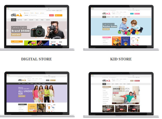Dilima - Mega Store Responsive HTML Template