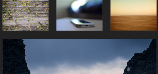 direction-aware hover effect css3 transform