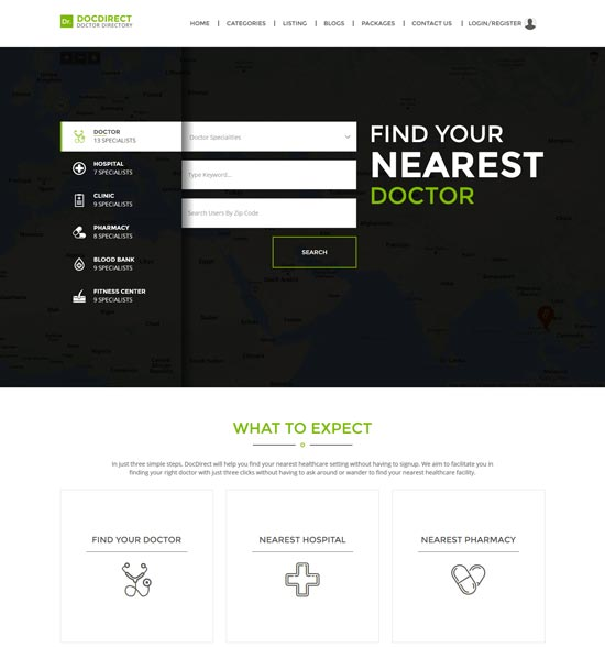 docdirect directory WordPress theme