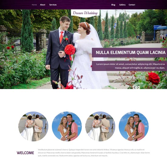 dream-wedding-free-html5-wedding-template