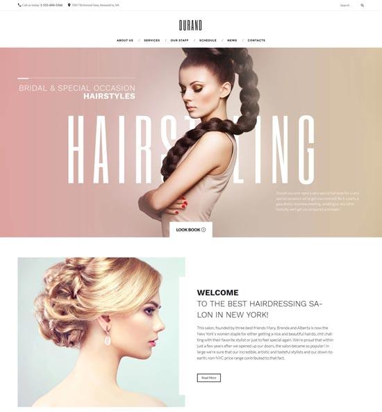 durand-beauty-hair-salon-theme