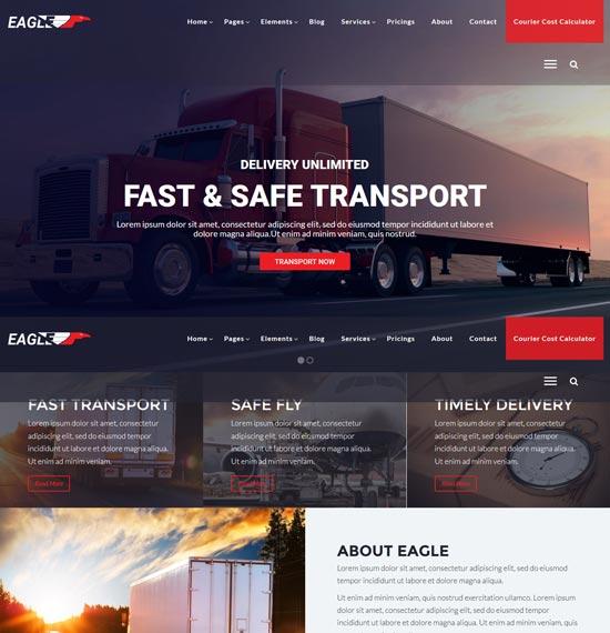eagle-transportation-wordpress-theme