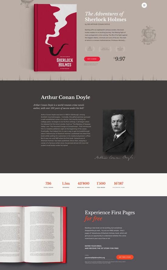 ebooks website template