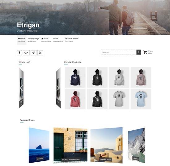 etrigan free ecommerce theme