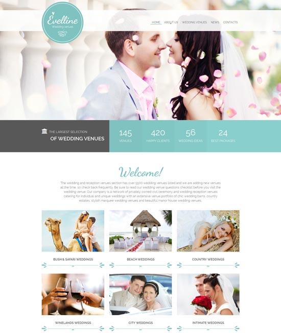 evelline-website-template