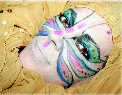 26 maskara face painting