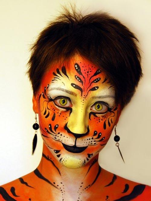 tigress face painting