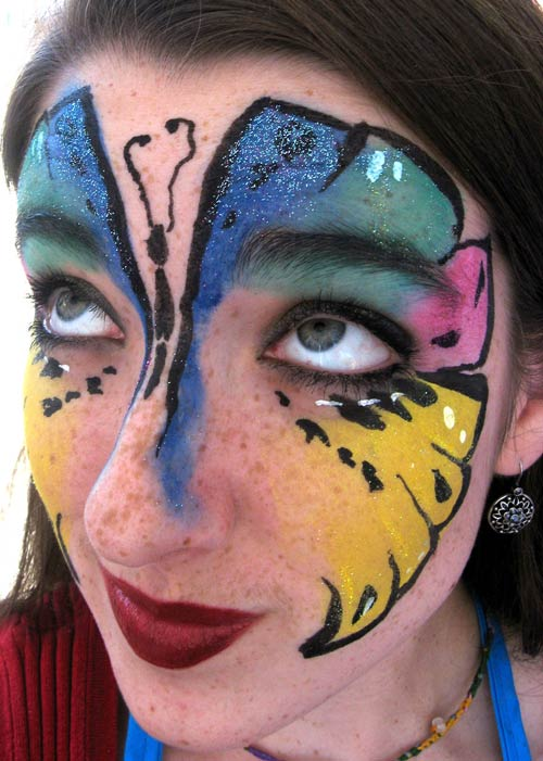 40 fun face paint