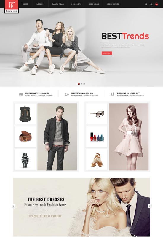 fashion feast opencart responsive theme