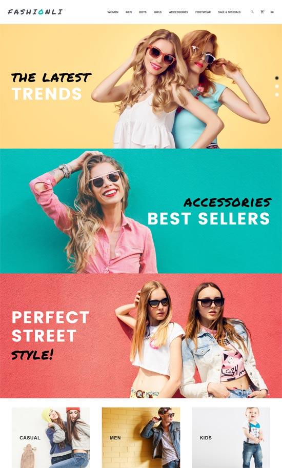 fashionli fashion store prestashop theme