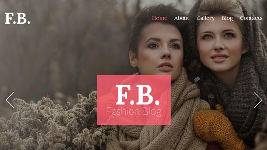 fb fashion model theme 53435