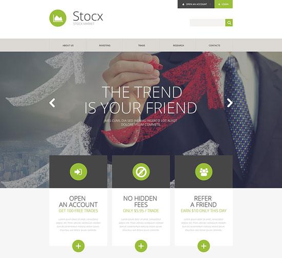 finance-company-responsive-website-template