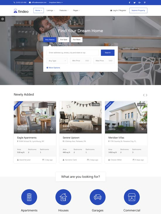 findeo-real-estate-html-template