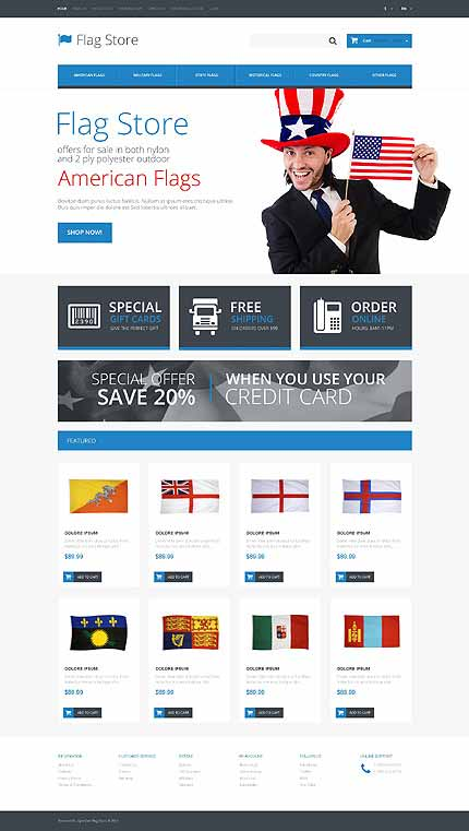 Society & Culture Responsive OpenCart Template