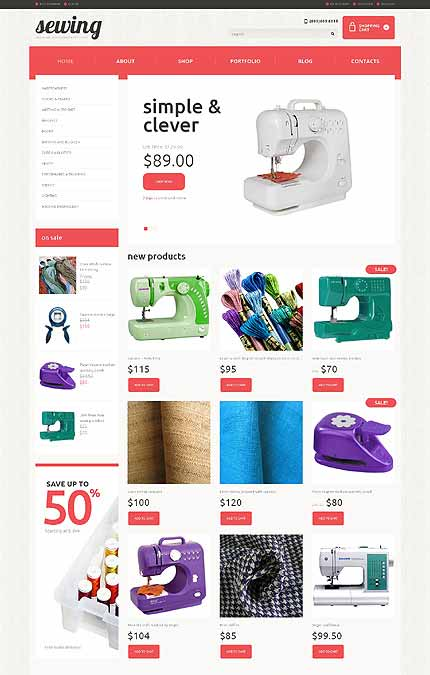 Crafts Responsive WooCommerce Theme