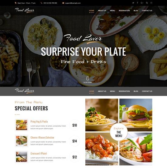 food-lover-restaurant-html-template