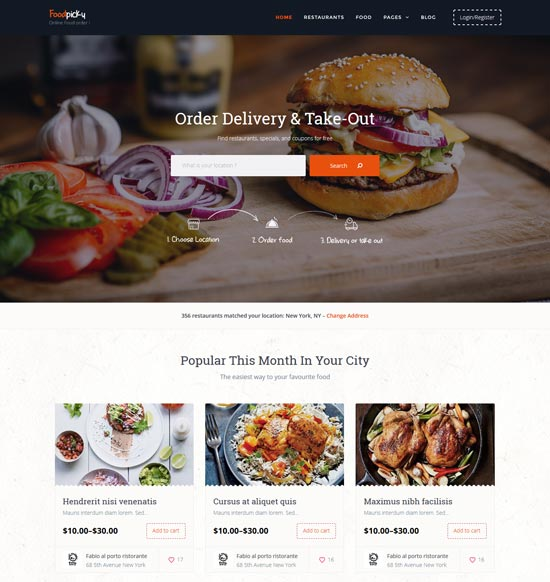 foodpicky-food-delivery-directory-wordpress-theme