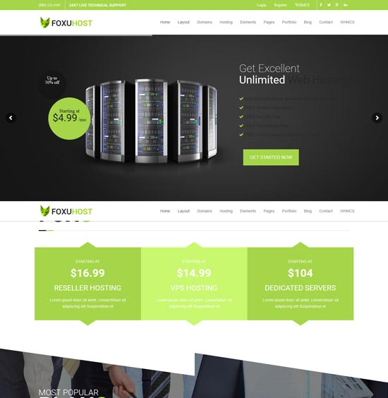 foxuhhost-web-hosting-wordpress-theme