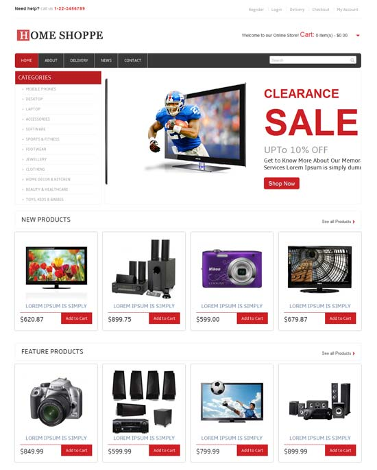 free-Home-Shoppe-Online-Shopping-Cart-Mobile-website-Template