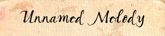 Unnamed Melody free font