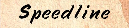 Speedline Regular free font