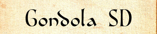 Gondola SD - free fonts for teachers