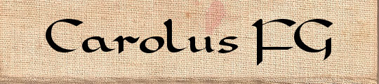 Carolus FG free font