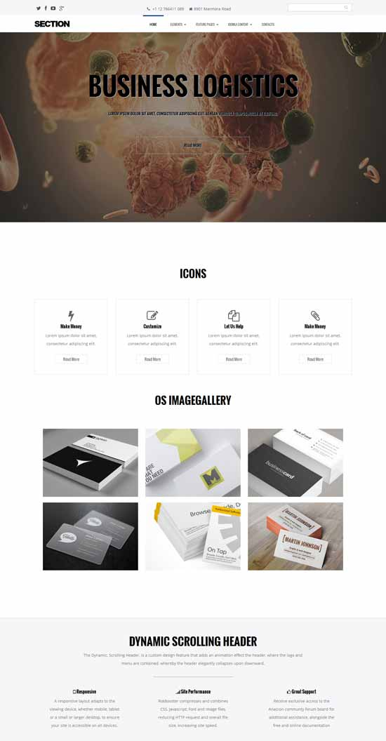 free-multipurpose-Joomla-template