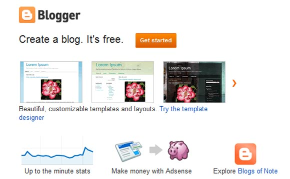 Blogger- Create Your Free Blog Website