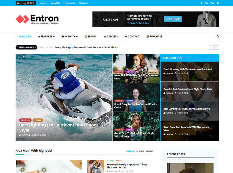 30 Best Free Wordpress Magazine Themes 2020 Freshdesignweb