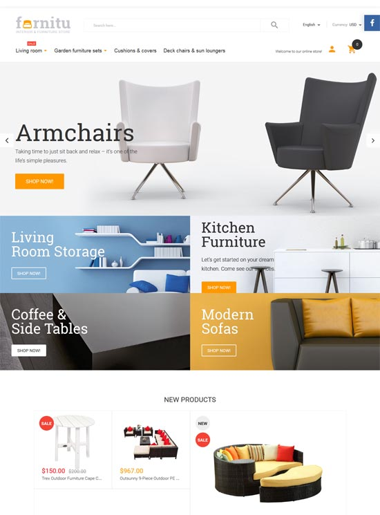 furnitu interior furniture magento theme