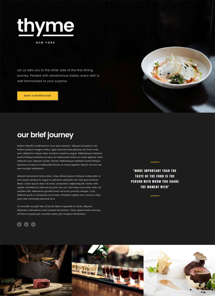 gastro cafe restaurant wordpress theme