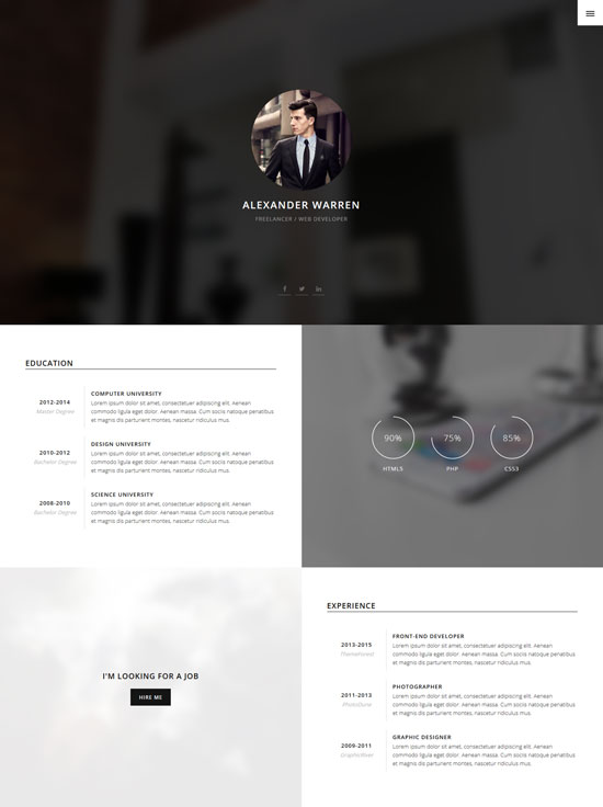 gentleman-personal-vcard-template