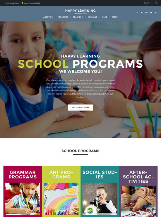 happy-learning-primary-school-wordpress-theme