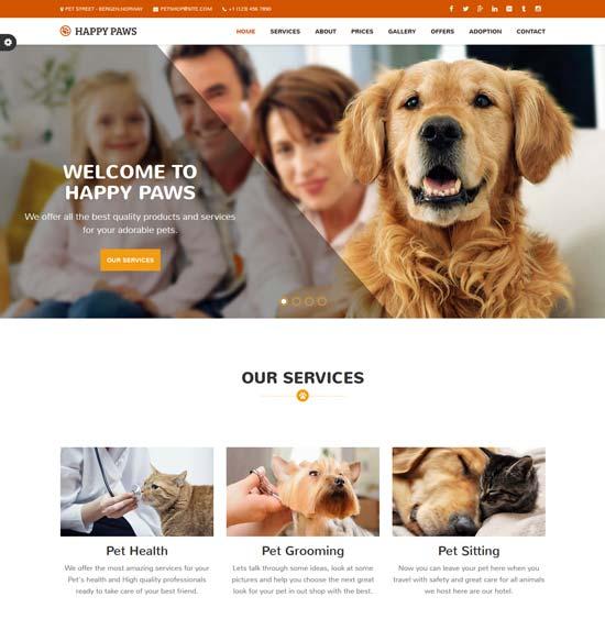 happy-paw-pet-responsive-html