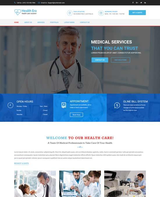 health era health html template